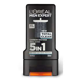 L'Oreal Men Expert Total Clean Carbon Shower 300ml