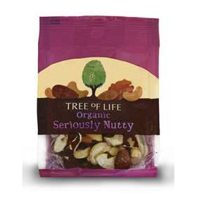 Tree of Life Organic Seriously Nutty 40g