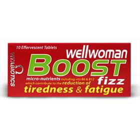 Vitabiotics Wellwoman Boost Fizz 10 Effervescent Tablets