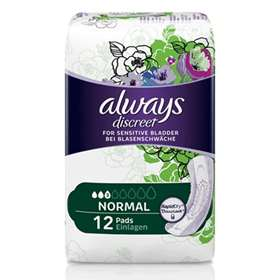 Always Discreet Incontinence Pads Normal 12