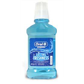 Oral-b Complete Lasting Freshness Arctic Mint Mouthwash 250ml