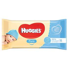 Huggies Pure Wipes 56