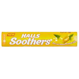 Halls Soothers Honey And Lemon Sweets 45g