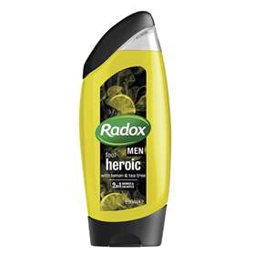 Radox Men Feel Heroic 2 in 1 Shower & Shampoo 250ml