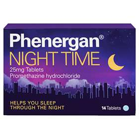 Phenergan Night Time 25mg Tablets 14
