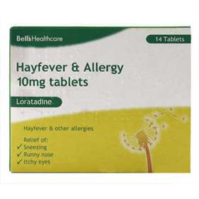 Numark Allergy & Hayfever tablets Loratadine 10mg Tablets 14