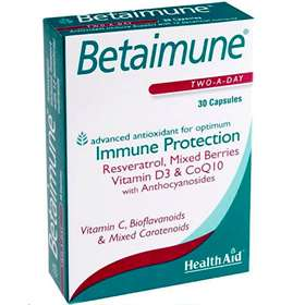 HealthAid Betainmune Two-A-Day Capsules 30