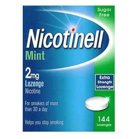 Nicotinell Mint Sugar Free 2mg Compressed Lozenges 144