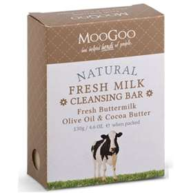 MooGoo Fresh Milk Cleansing Bar  with Fresh Buttermilk and olive oil 130g