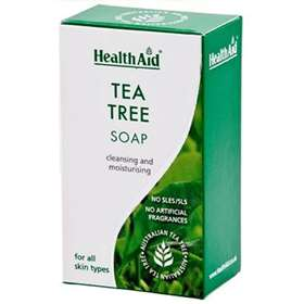 HealthAid Tea Tree Soap Bar 100g
