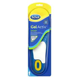 Scholl Gel Activ Sport Replacement Insoles For Men Uk 7-12