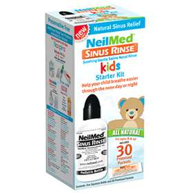 NeilMed Sinus Rinse Kids Kit 30 Premixed Packets