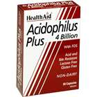 Health Aid Acidophilus Plus 4 Billion 30 Capsules