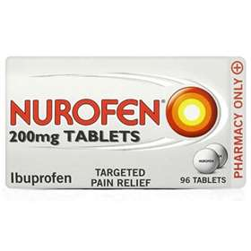 Nurofen Ibuprofen Targeted Pain Relief 96 Tablets