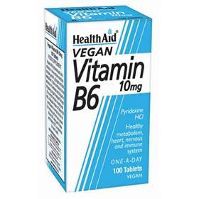 HealthAid Vitamin B6 10mg Tablets 100