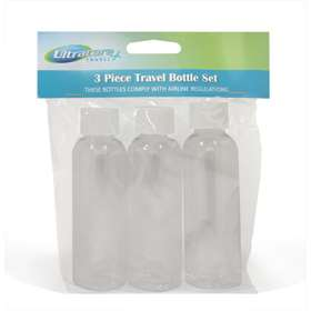 Ultracare Travel Bottles 3 Set
