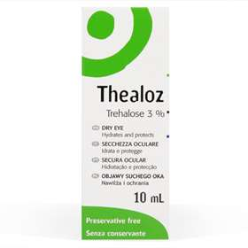 Thea Thealoz Eye Drops 10ml