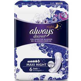 Always Discreet Incontinence Maxi Night 6