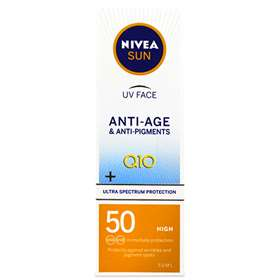 Nivea Sun Q10 Anti-Age and Anti-Pigment Face Cream SPF50 50ml