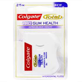 Colgate Total Pro Gum Health Interdental Floss 25m