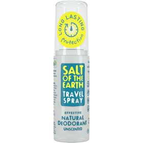 Salt of the Earth UNSCENTED Natural Deodorant Travel Spray - 50ml