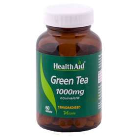 HealthAid Green Tea 1000mg 60 Tablets