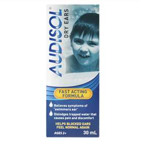 Audisol Dry Ears Spray 30ml