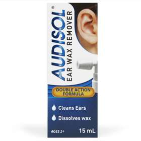 Audisol Ear Wax Remover 15ml