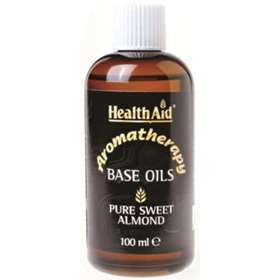 Health Aid Pure Sweet Almond Base Oil 100ml