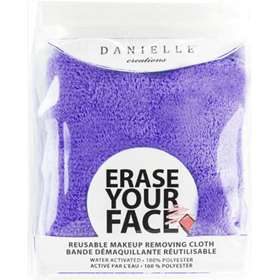 Erase Your Face Reusable Make-up Removing Cloth Purple