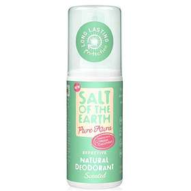 Salt Of The Earth Pure Melon & Cucumber Natural Roll-On  Deodorant 75ml