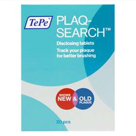 TePe PlaqSearch Disclosing Tablets 20