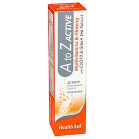 HealthAid A to Z Effervescent Tablets 20