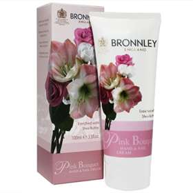 Bronnley Pink Bouquet Hand and Nail Cream 100ml