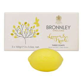 Bronnley England Lemon & Neroli Three Soaps 3 x 100g