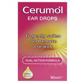 Cerumol Dual Action Ear Drops 10ml