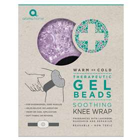 Aroma Home Therapeutic Gel Beads Soothing Knee Wrap - Lavender