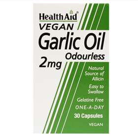 HealthAid Garlic Oil 2mg 30 Capsules