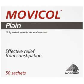 Movicol Plain 50 13.7g Sachets