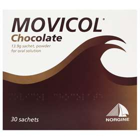 Movicol Chocolate 30 13.9g Sachets