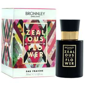 Bronnley England Zealous Flower Eau Fraiche 30ml