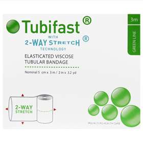 Tubifast Green Line 2 Way Stretch Bandage 3 Metres