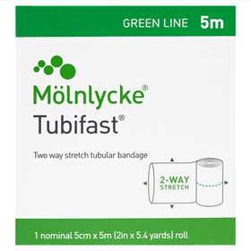 Tubifast Green Line 2 Way Stretch Bandage 5 Metres