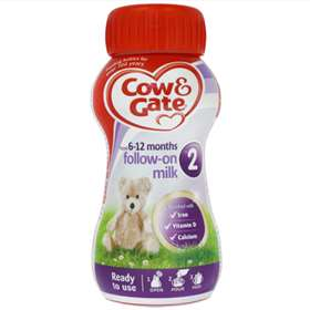 Cow and Gate 2 Ready to Use Follow-On Milk (From Six Months) 200ml