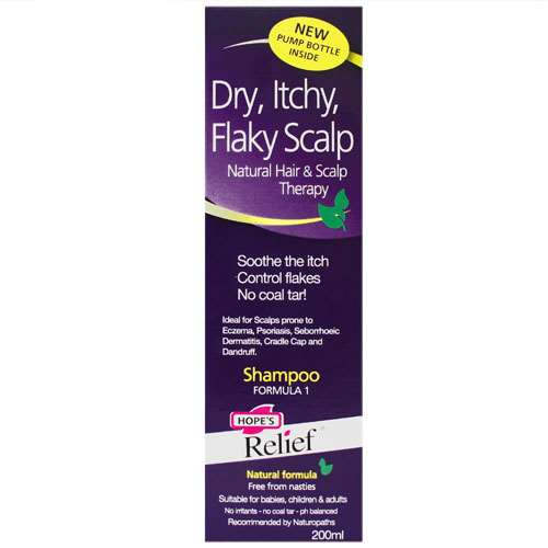 Click to view product details and reviews for Hopes Relief Dry Itchy Flaky Scalp Shampoo 200ml.