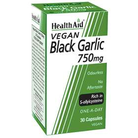HealthAid Black Garlic 750mg 30 Capsules