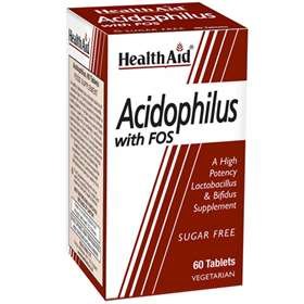 HealthAid Acidophilus with FOS 60 Tablets