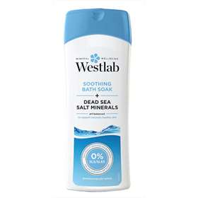 Westlab Soothing Bath Soak + Dead Sea Salt Minerals 400ml