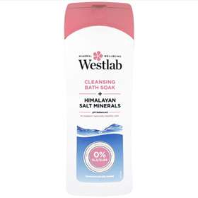 Westlab Cleansing Bath Soak + Himalayan Salt Minerals 400ml