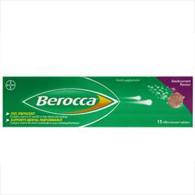 Berocca Blackcurrant Flavour 15 Tablets
